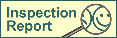 Inspection report is in danish