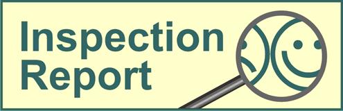 Inspection report is in danish